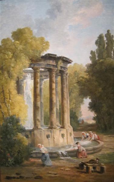 The Washer Women, 1792 - Hubert Robert