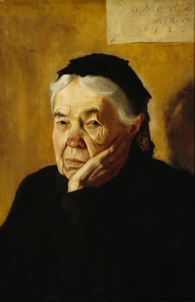The Artist's Aunt, 1898 - Hugo Simberg