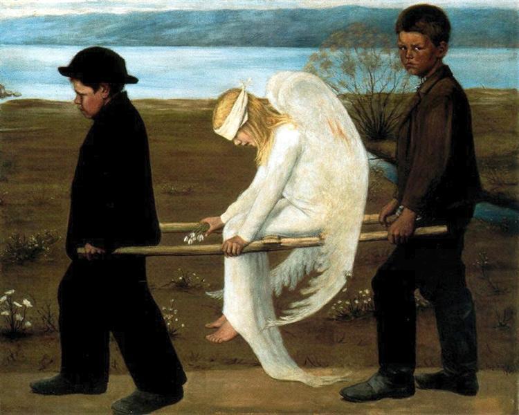 The Wounded Angel, 1903 - Hugo Simberg