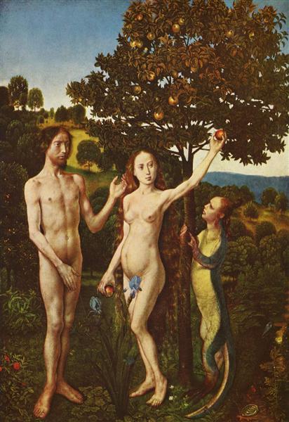 The Fall, c.1480 - Hugo van der Goes