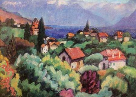 Landscape, 1914 - Ilya Mashkov