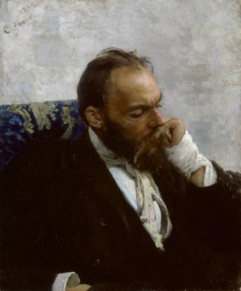 Portrait of Professor Ivanov, 1882 - Ilya Repin