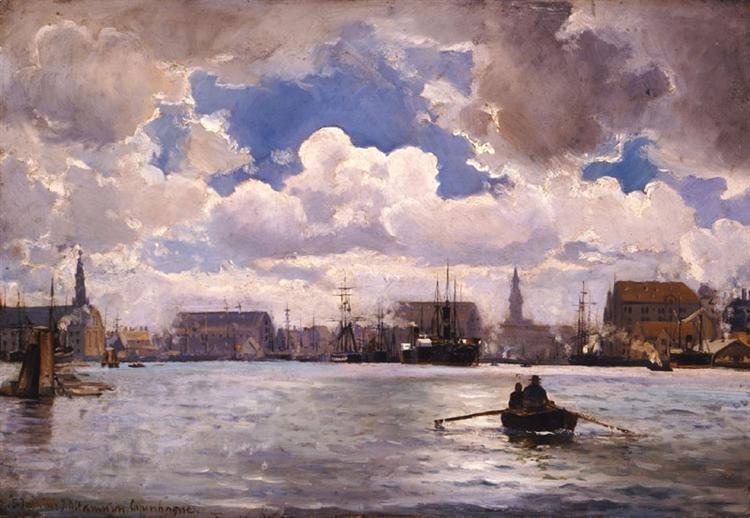 The Port of Copenhagen, 1874 - Иоаннис Алтамурас