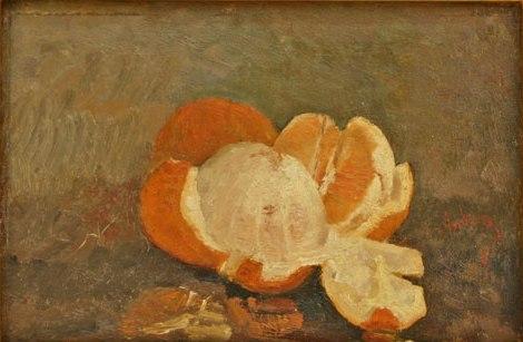 Peeled Orange - Ion Andreescu