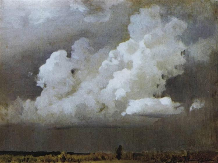 Before the storm, 1890 - Isaac Levitan
