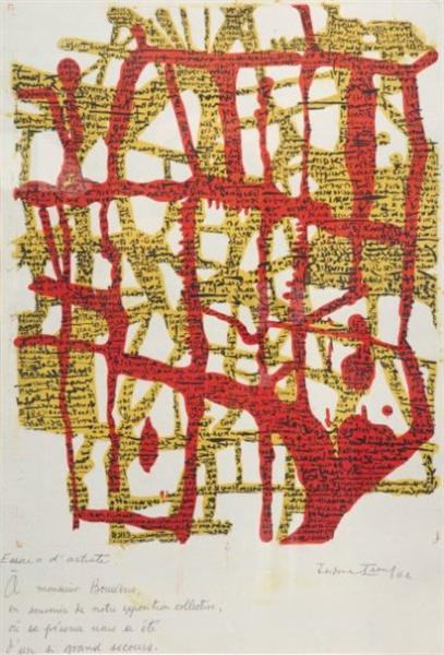 Untitled, 1961 - Isidore Isou