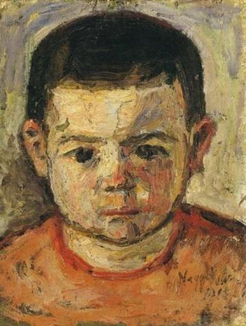 Little boy, 1915 - István Nagy