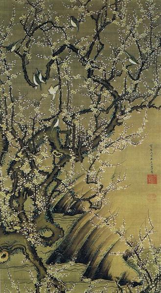 Baika shokinzu - Ito Jakuchu
