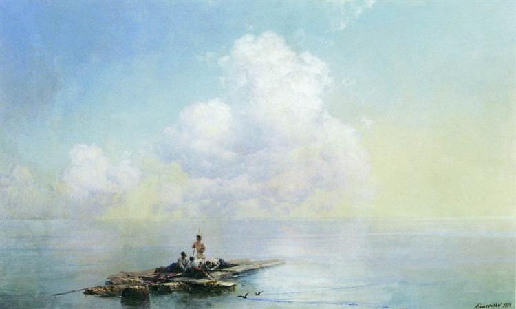 Morning after the storm, 1888 - Іван Айвазовський