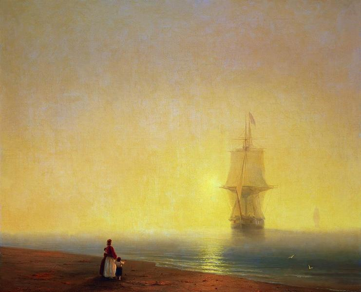 Morning at Sea, 1849 - Ivan Aivazovsky