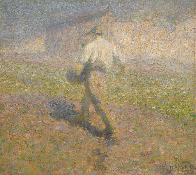 The Sower, 1907 - Ivan Grohar