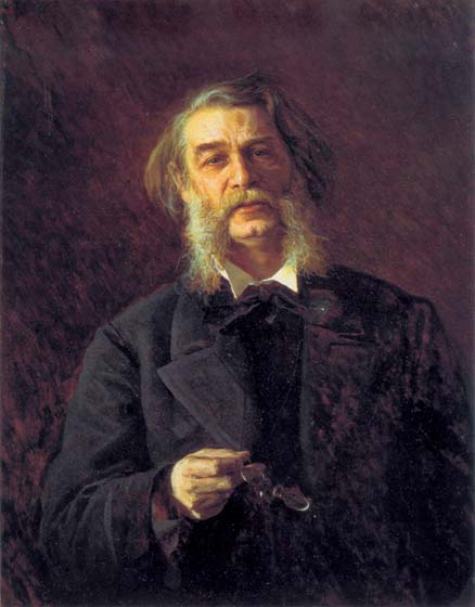 Dmitry Grigorovich, a Russian writer, 1876 - Ivan Kramskoy