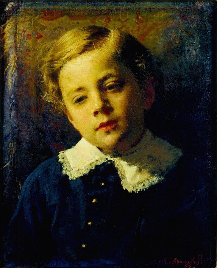 Портрет Сергея Крамского, сын