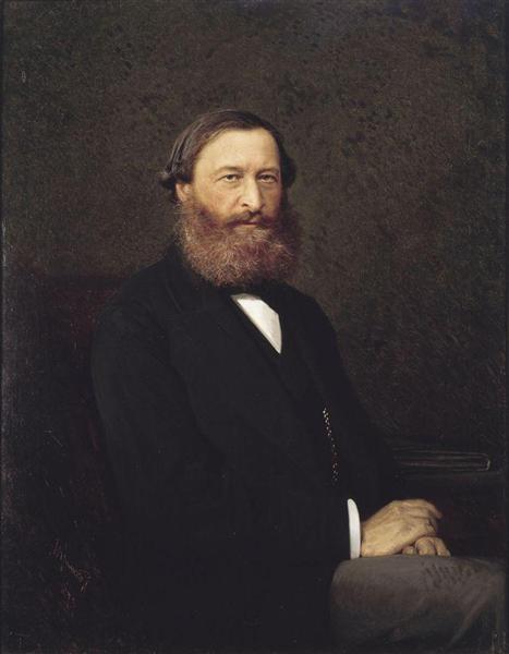 Portrait Samarin, 1878 - Ivan Kramskoy