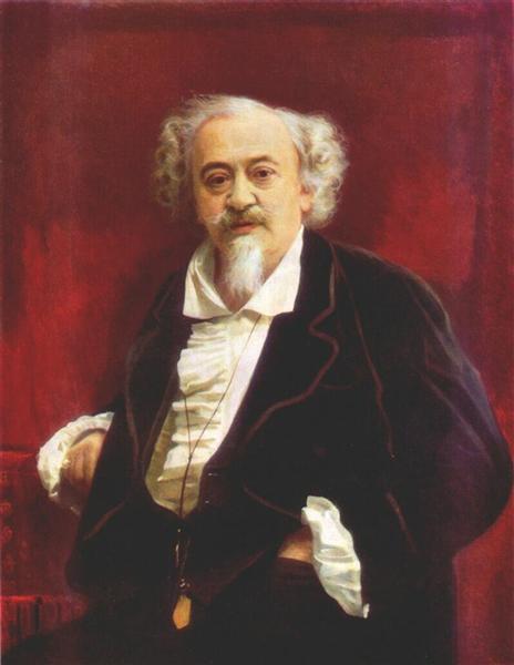 The actor Vasily Samoilov, 1881 - Ivan Kramskoy