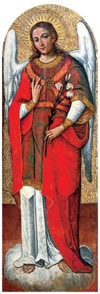 Archangel Gabriel, 1697 - 1699 - Ivan Rutkovych