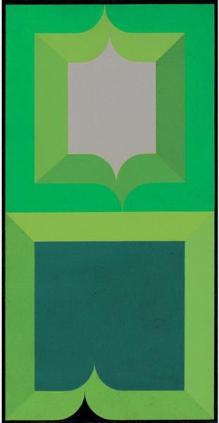 Série Amazônica n° 5, 1968 - Ivan Serpa