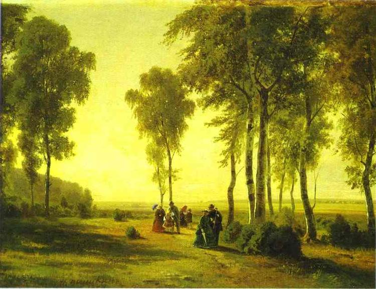 Promenading in the Forest - Ivan Chichkine