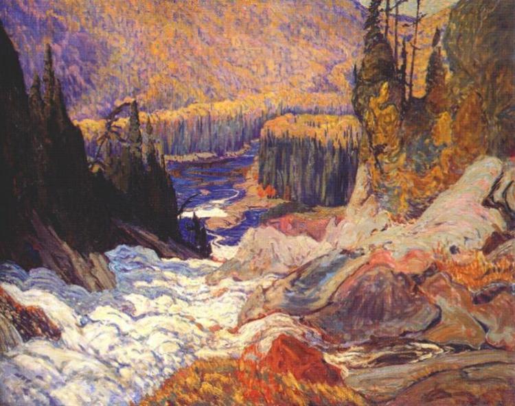 Montreal River - J. E. H. MacDonald