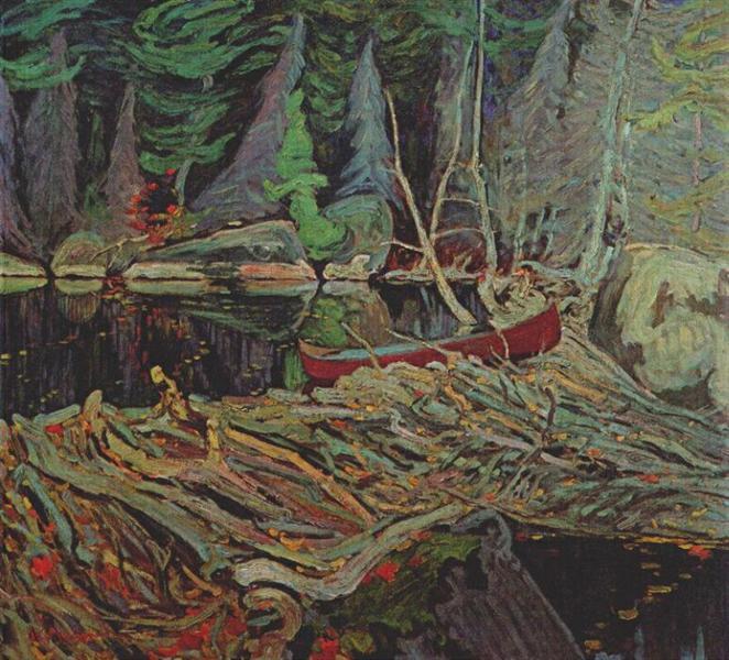 The Beaver Dam - J. E. H. MacDonald