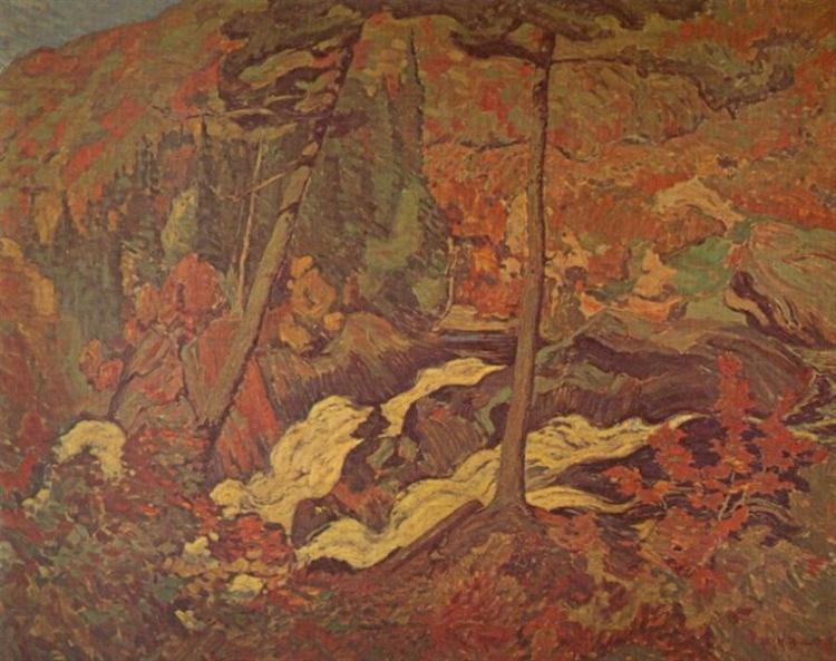 The Wild River, 1919 - J. E. H. MacDonald