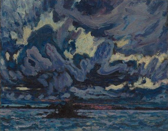 Wind Clouds - J. E. H. MacDonald