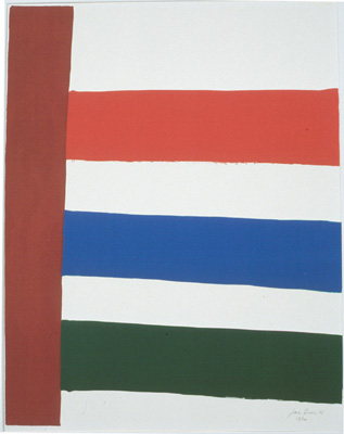Stripped to the Right, 1965 - Jack Bush