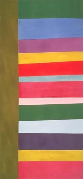 Tall Spread, 1966 - Jack Bush