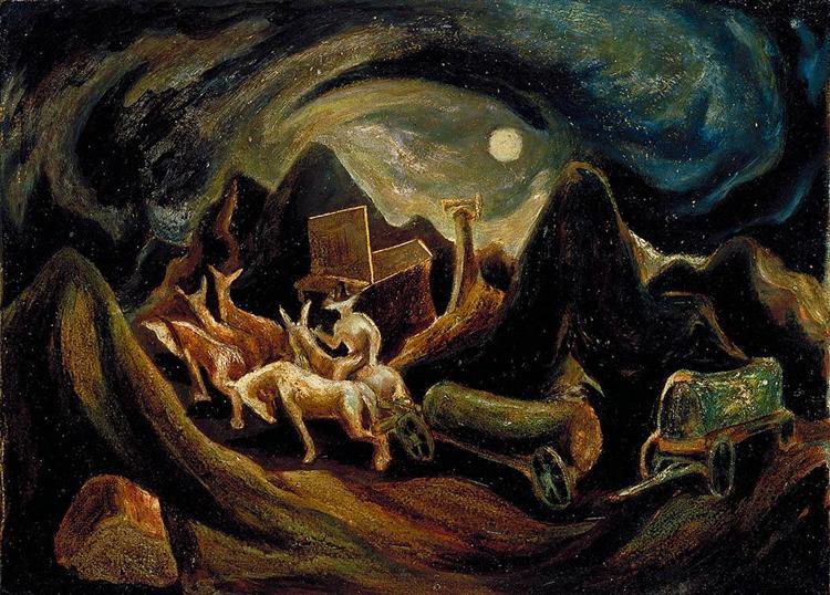 На Запад, 1934 - 1935 - Джексон Поллок