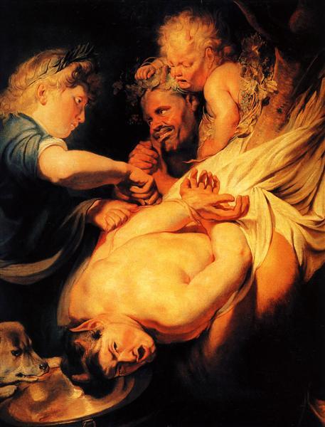 Marsyas Flayed by Apollo, 1625 - Jacob Jordaens