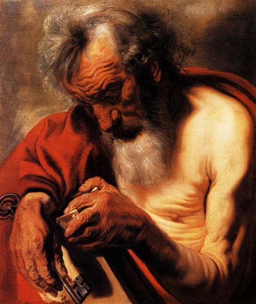 Saint Peter - Jacob Jordaens