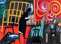 The Apartment - Jacob Lawrence