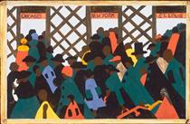 The Migration of the Negro, Panel 1 - Jacob Lawrence