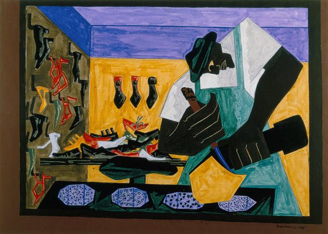 The Shoemaker - Джейкоб Лоуренс