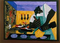 The Shoemaker - Jacob Lawrence