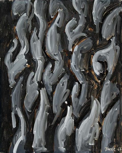 Les gardes bardés d'acier, 1968 - Jacques Busse