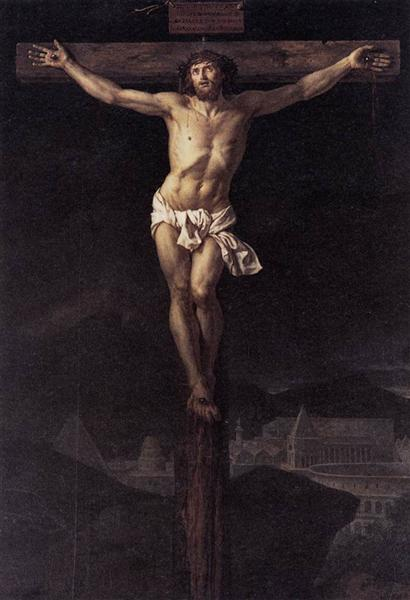 Christ on the Cross, 1782 - Jacques-Louis David