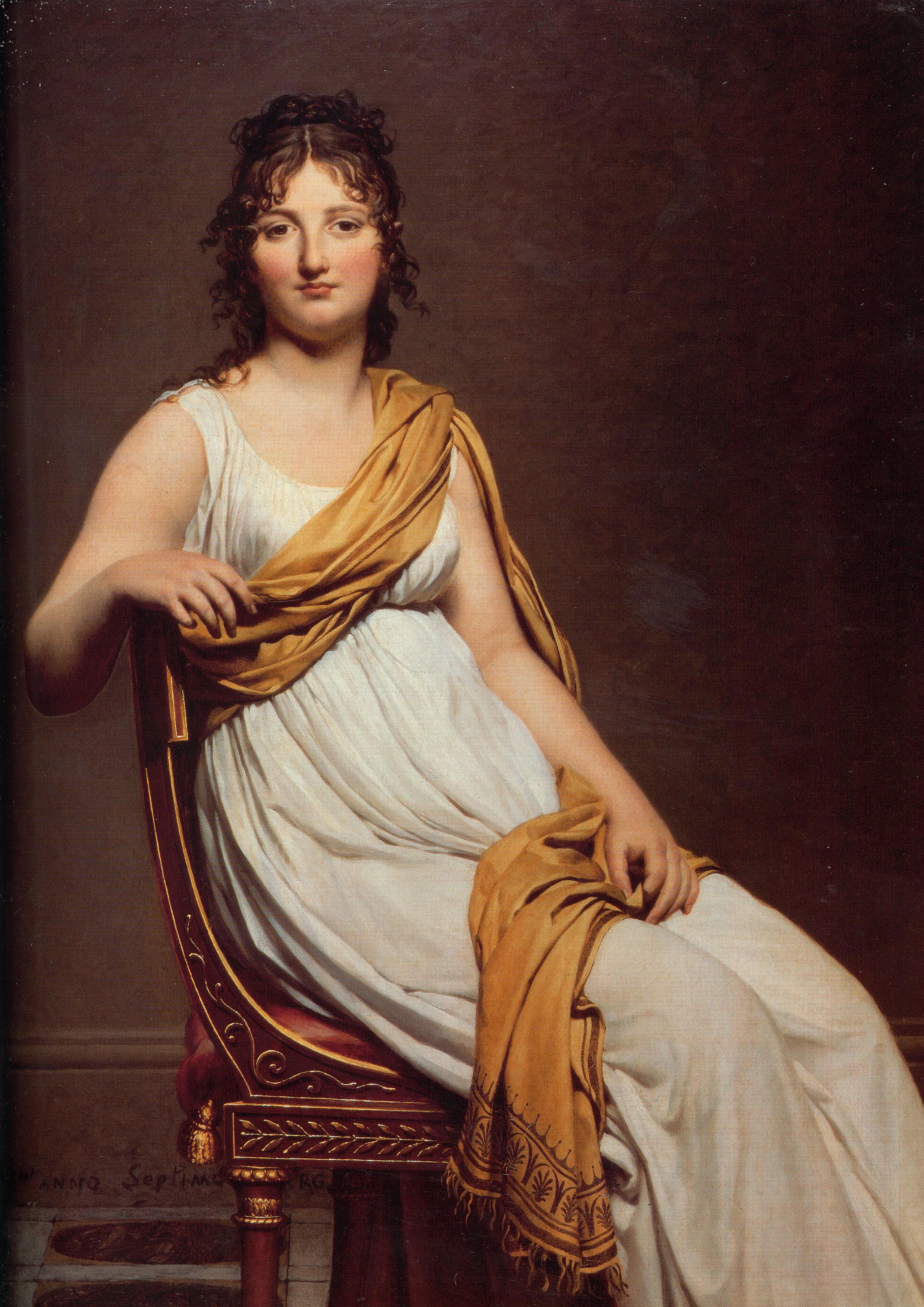 jacques louis david Jacques louis david early turned his back on the frivolous rococo manner,  looking instead to antiquity for inspiration following the ideals of nicolas  poussin,.