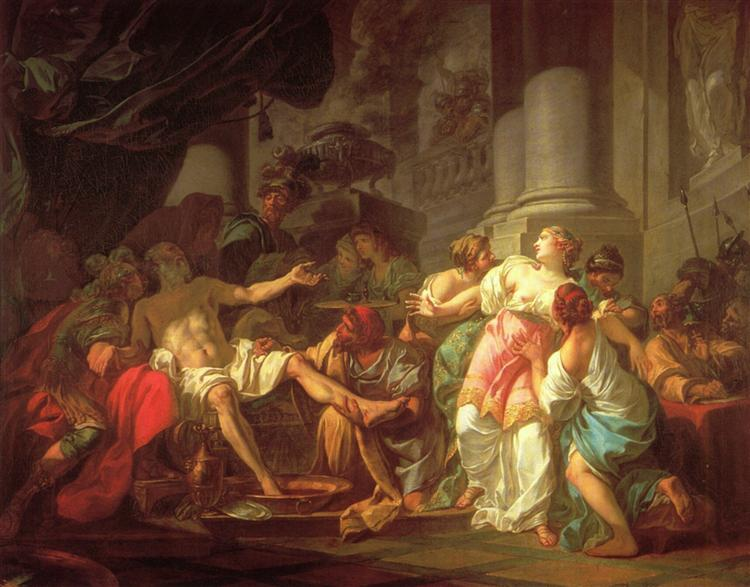 The Death of Seneca - David Jacques-Louis