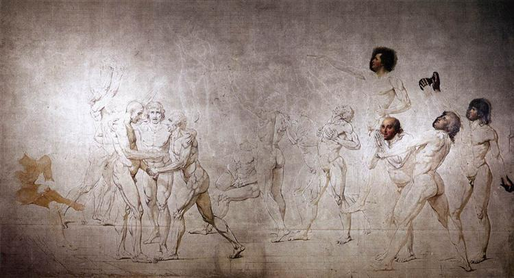 The Oath in the Tennis Court, 1791 - Jacques-Louis David