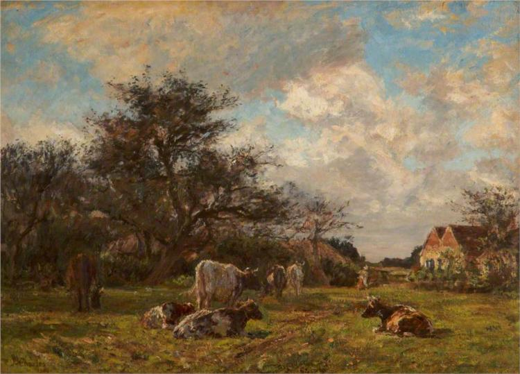 On a Sussex Farm, 1904 - James Charles