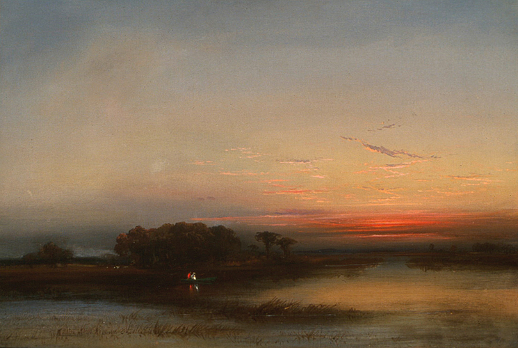 In theSalt Marshes of N. J., 1872 - James Hamilton