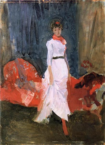 Arrangement in Pink, Red and Purple, 1883 - 1884 - James McNeill Whistler
