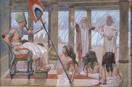 Moses Speaks to Pharaoh, c.1896 - c.1902 - James Tissot