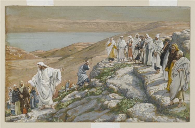 Ordaining of the Twelve Apostles, 1886 - 1894 - James Tissot