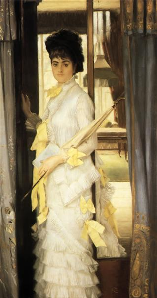 Portrait of Miss Lloyd, 1876 - James Tissot