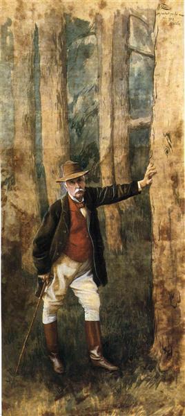 Self-Portrait, c.1898 - James Tissot
