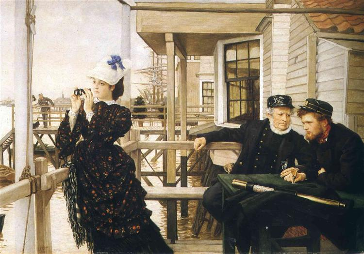 The Captain's Daughter, 1873 - James Tissot
