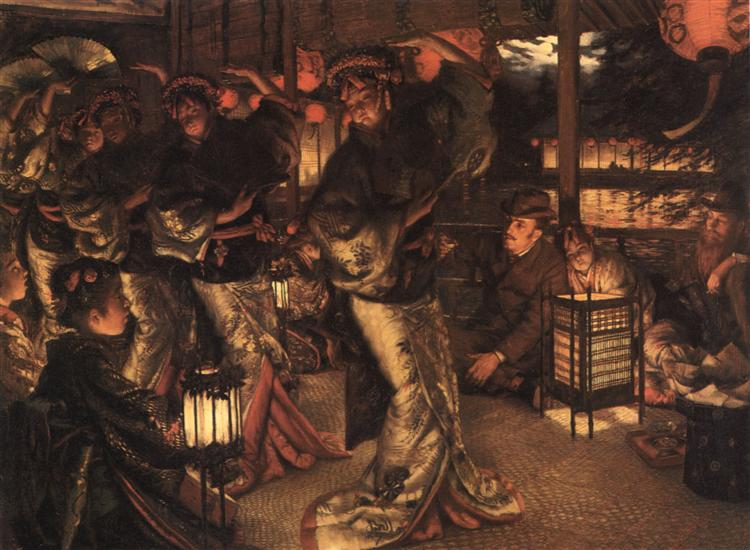 The Prodigal Son in Modern Life In Foreign Climes, c.1882 - James Tissot