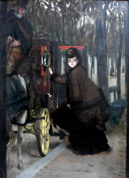 The Secret Rendez Vous, 1890 - Джеймс Тиссо